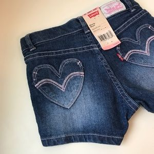 LEVI'S Shorty Shorts (Girls 6X)