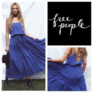 🆕Free People Valerie Blouson Maxi Dress.  NWOT.