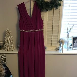 Forever 21 long fuchsia dress