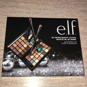 NEW ELF 48 color Eyeshadow & Brush Set