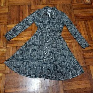 SERENA & LILY SHIRT DRESS 2