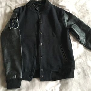 Topshop black jacket