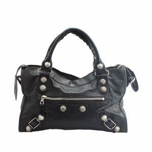 Balenciaga Giant City Leather Satchel (138672)