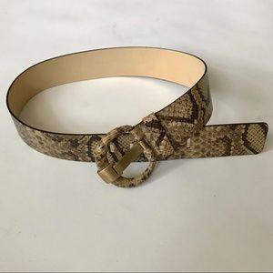 Banana Republic Genuine Leather Belt