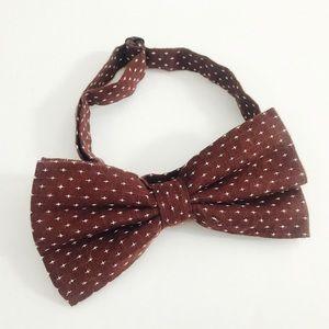 Other - Brown bowtie,brown tie,tie,bowtie,boys bowtie,