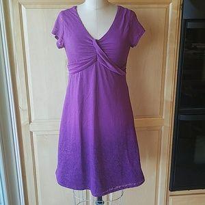 Athleta ombre burnout knit dress