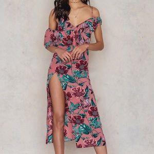 For Love and Lemons Flamenco Maxi Dress
