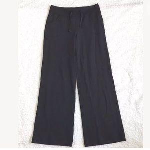 Lululemon Still Pants Women's 8 Black Sweatpants