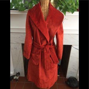 Vintage Mid-Century Wrap Coat