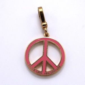 """Juicy Couture """"Peace Love Couture"""" Charm"""