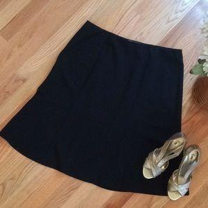 Dress Barn Elastic Black Skirt