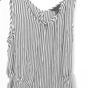 H & M striped blouse