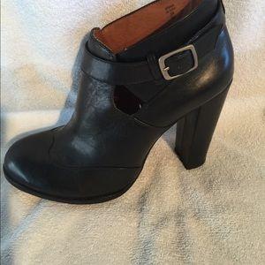 All Saint Spitalfields black boots