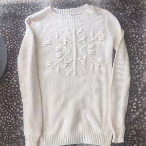 💓❄️Lauren Conrad snowflake sweater ❄️💓XS