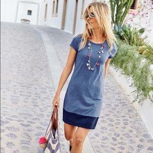 Boden Slub T Shirt Dress