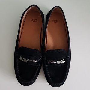 UGG Davina loafers in black suede