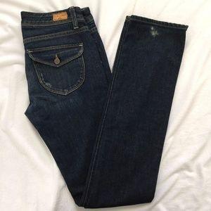 Paige Premium Jeans Pico 5 Pocket Bootcut Denim 27