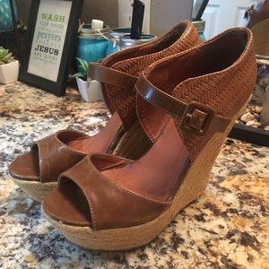 Just fabulous wedge heels