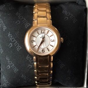 BULOVA WOMEN'S ROSE GOLD WATCH
