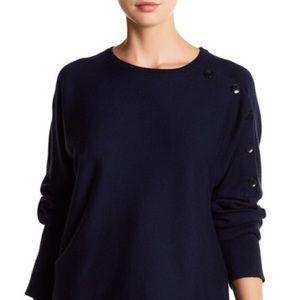 Tibi - Mock Rib Wool Sweater
