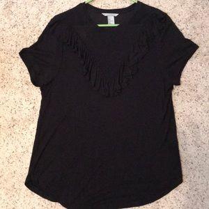 H&M Short Sleeve Ruffle top