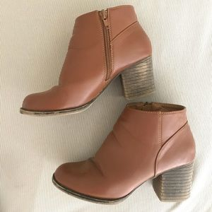 Booties from Forever21