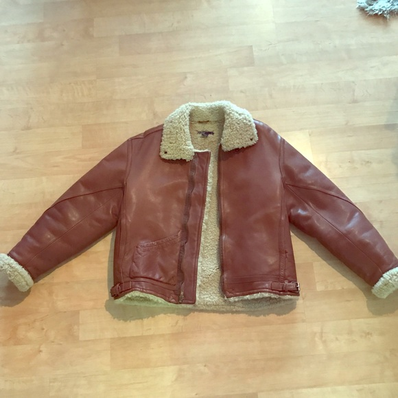 a94b11c05 Ralph Lauren Iconic Shearling Bomber Jacket