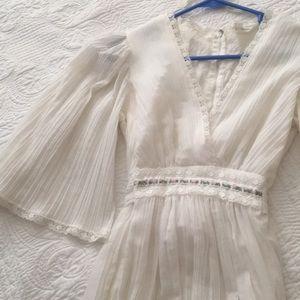 Beautiful Boho Bride 60's Dress