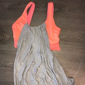 Lululemon sport tank with built in sports bra