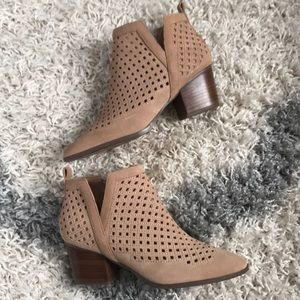 Sole Society Perforated Booties