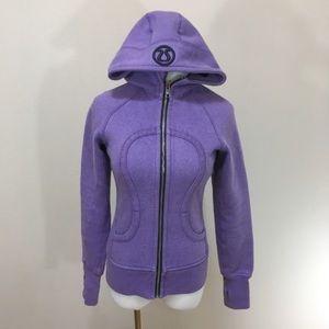 Lululemon Limited Edition Sparkle Purple Scuba 2