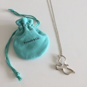 Authentic Tiffany's Paloma Picasso Dove necklace