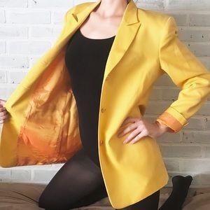 Vintage Yellow Austin Reed Blazer