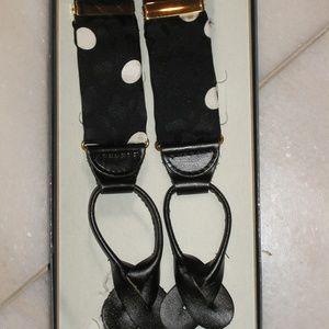Other - Men's SILK/K SUSPENDERS BRACES W Leather Tabs