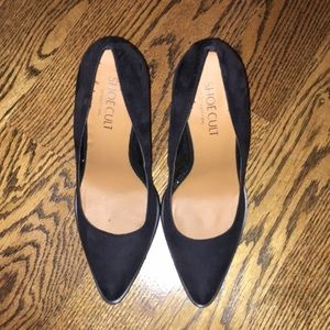 Shoe Cult by Nasty Gal Size 8 Black Suede Pumps