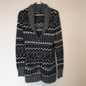 Patterned Cardigan SizeL