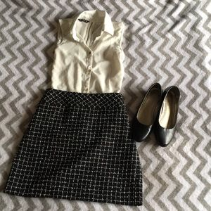 Checkered Loft skirt