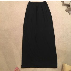 Target black maxi skirt