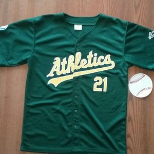 Oakland A's Sweeney Jersey Large