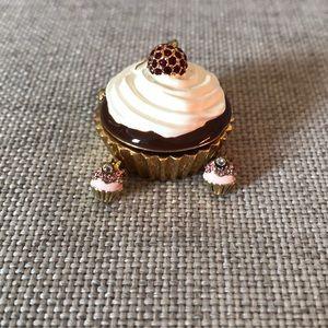 Juicy Couture cupcake earrings