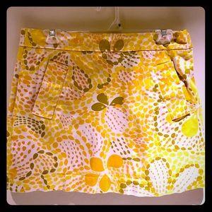 J. Crew Floral Patterned Skirt