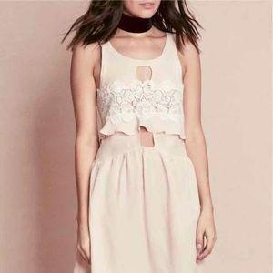 FLL Sienna Sleeveless Keyhole Dress