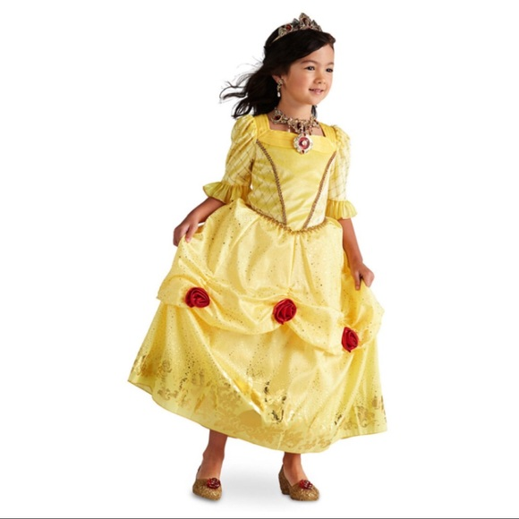 Disney Costumes | Girls Belle Ball Gown Costume | Poshmark