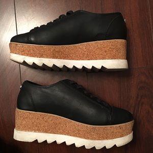 Steve Madden Korrie leather platform sneakers