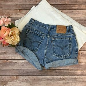 Levi's | Cut off Jean Shorts Size 12