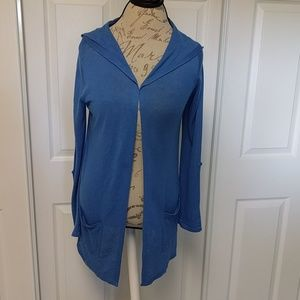 Gorgeous Cynthia Rowley Cobalt long cardigan