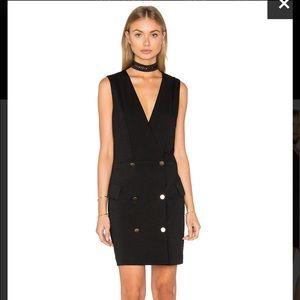 NWT MINKPINK Black Crawford Blazer Dress Size S