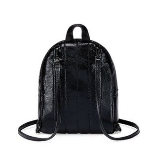 4da763831f5 Victoria s Secret Bags - VS Metallic Crackle Mini City Backpack
