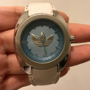 Vintage Adidas Leather watch