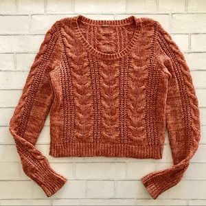 Free People Chunky Knit Sweater Small